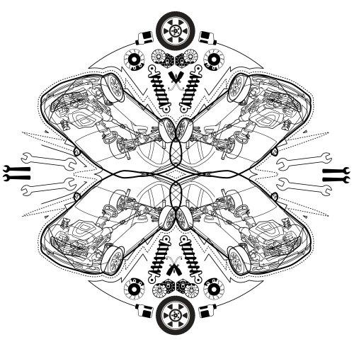 Graphic kaleidoskop