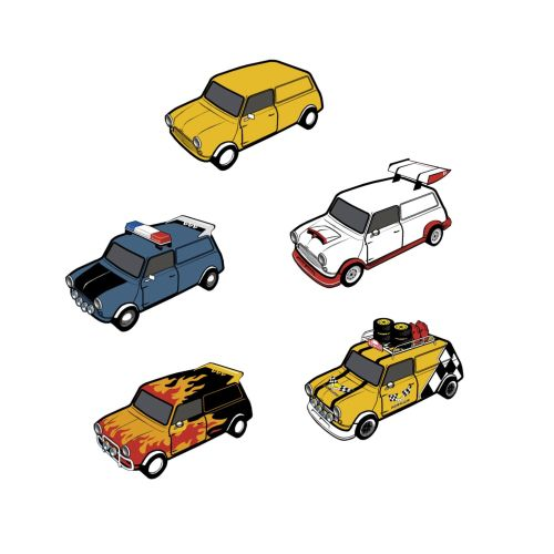 Graphic different cars