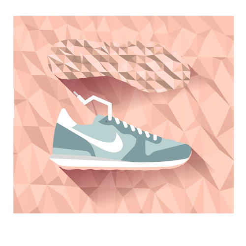 Graphic Sports Sneaker