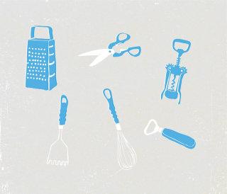 Medical equipments illustration by Tobias Wandres