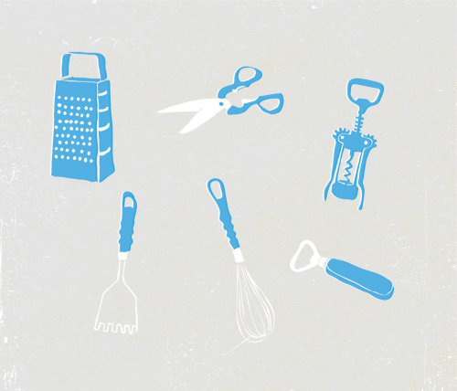 Medical equipments illustration by Tobias Wandres