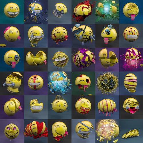 Conception des personnages des emoji