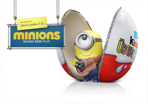 Illustration CGI du film Minions Schau den