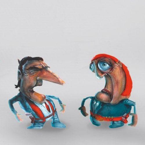 Tobias Wüstefeld Desenhos animados e humor
