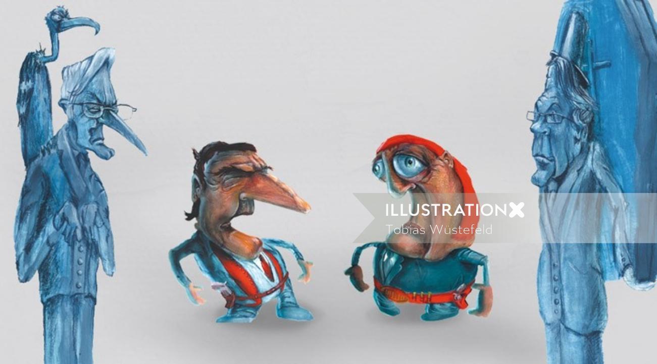Cartoon People illustration