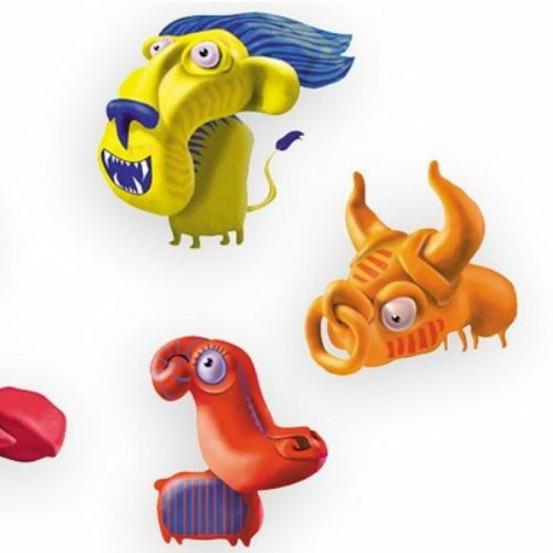 Monster animals 3d character design