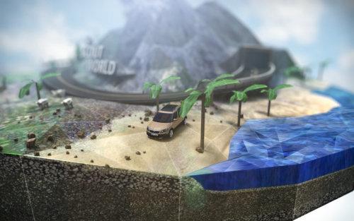 Illustration de la nature de la conduite sur la plage