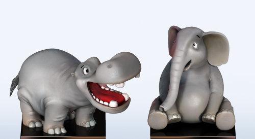 Animal character design illustration