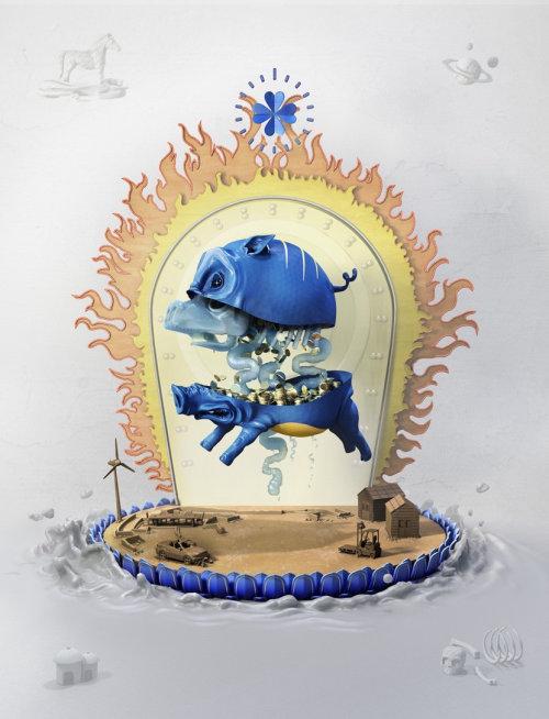 Illustration CGI par TobiaS Wüstefeld