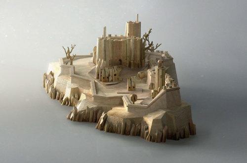 Illustration d'architecture de l'île