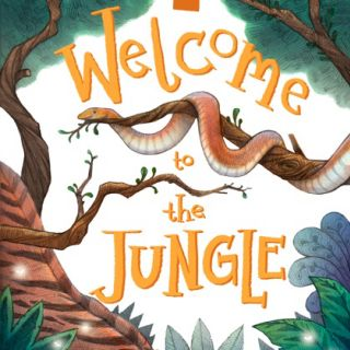 Welcome to the jungle Book Cover