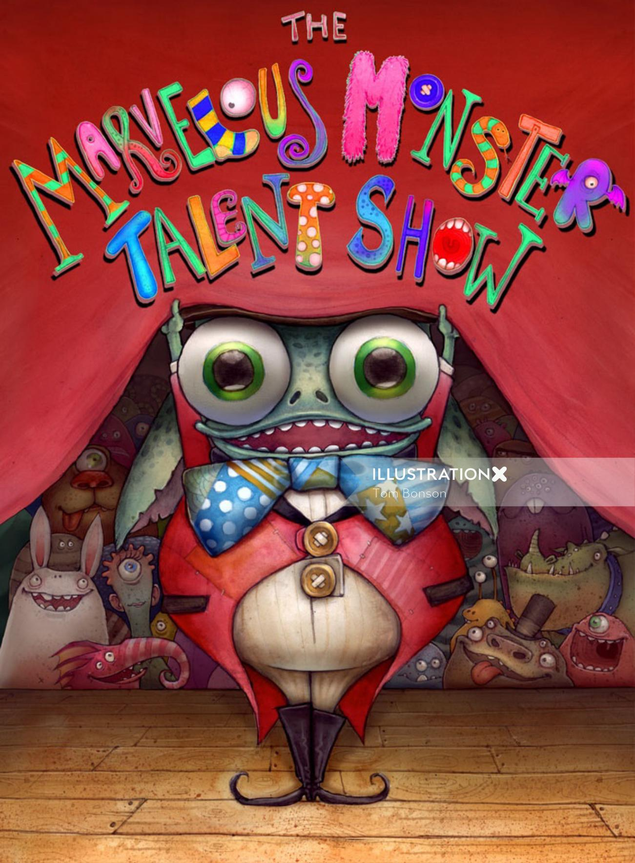 Marvellous Monster Talent Show Book Cover