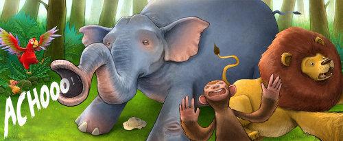 Arte digital dibujo de animales
