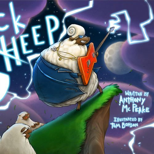 Book Cover Art of Rock Sheep