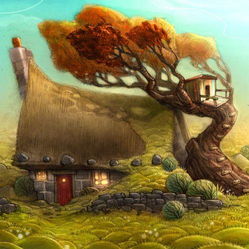 Tom Bonson Illustrateur de livres pour enfants. Royaume-Uni