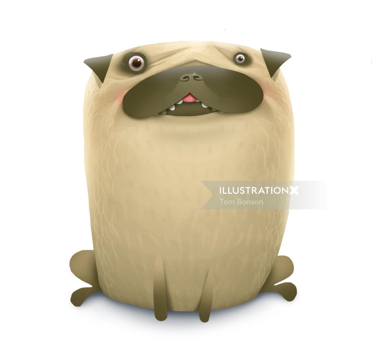 Animal character design by Tom Bonson