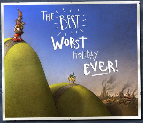 Cartoon & Humour les meilleures pires vacances de tous les temps