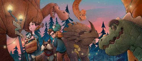 Dinoland Página 3,4