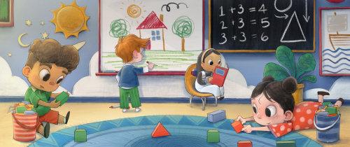 Conception de livres pour enfants