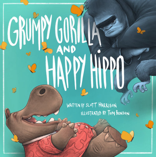 Couvertures de livre Grumpy Gorilla Happy Hippo