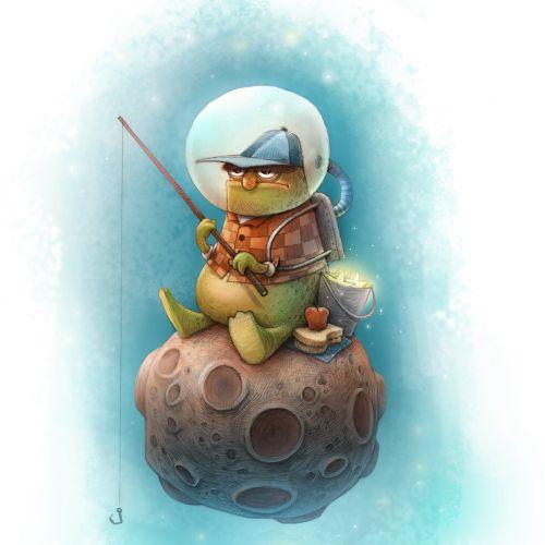 Tom Bonson Children's Book Illustrator. UK