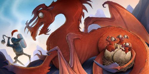 Fantay Dragon et Knight