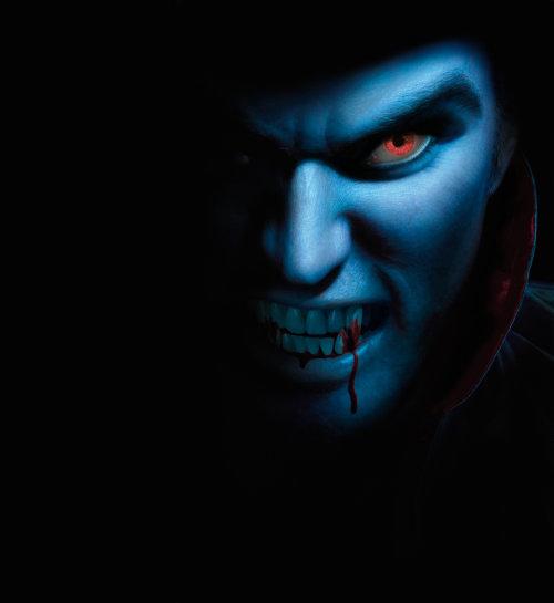 Vampire généré par ordinateur