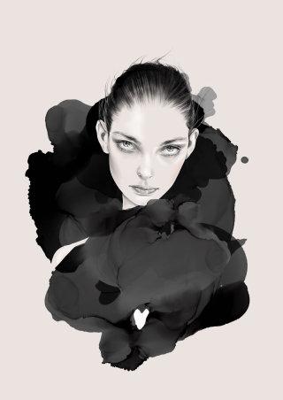 dark,beauty,