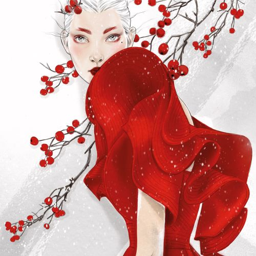 Tracy Turnbull International Fashion & Beauty illustrator. UK