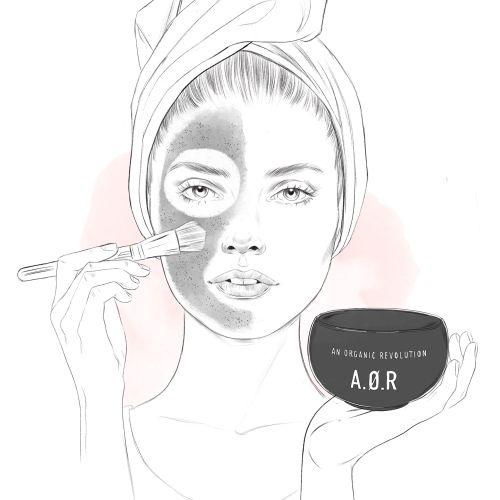 Aor makeup kit fashion illustration