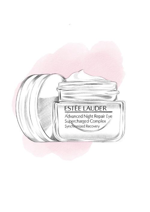 Packaging of Estee Lauder eye cream