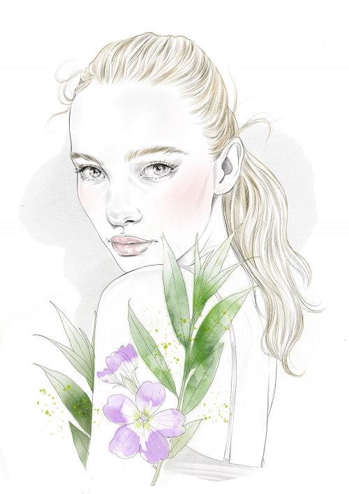 Fashion figure illustration