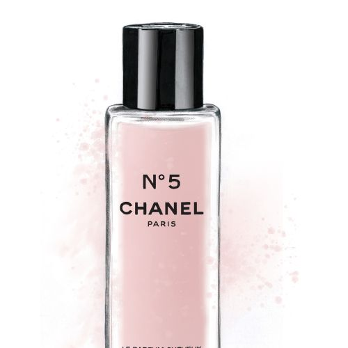 illustration of hair mist |  Chanel No 5
