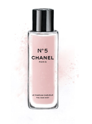 illustration of hair mist |  Chanel No 5