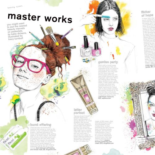 Nylon Magazine USA mixed master works