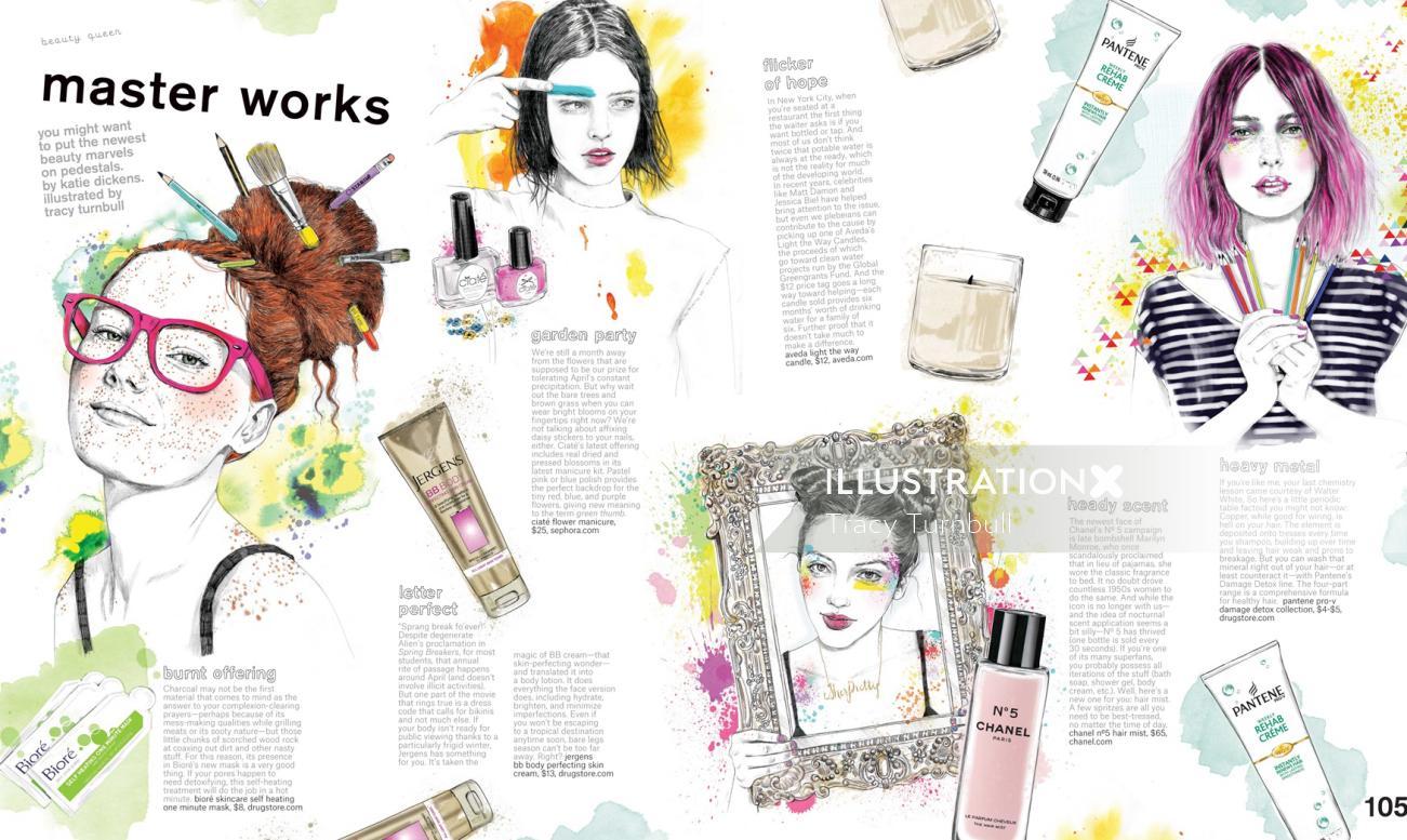 Nylon Magazine USA mixed master works