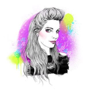 Illustration of Olivia