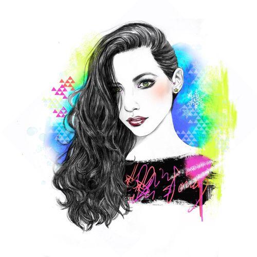 Illustration of Sabrina