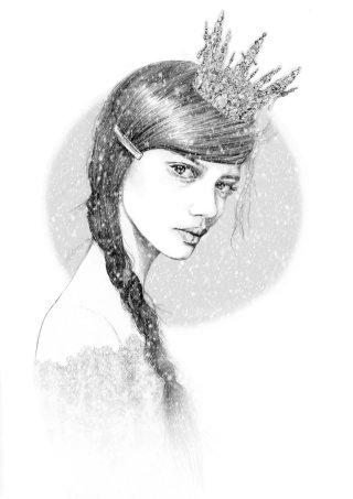 Soft art of Enchanted woman