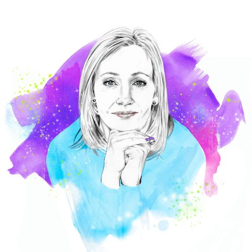 Portrait of JK ROWLING by Tracy