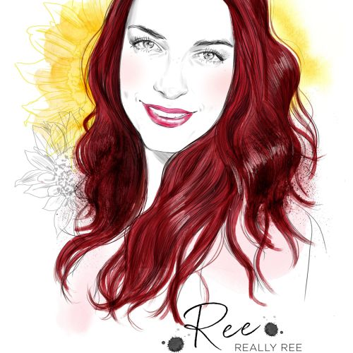 Garnier Olia red campaign Ree