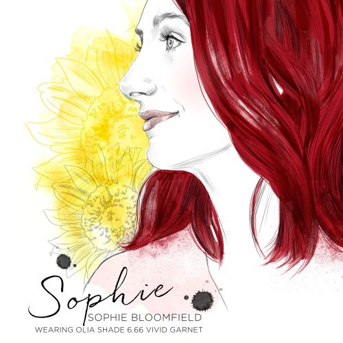 Portrait of Sophie by Tracy