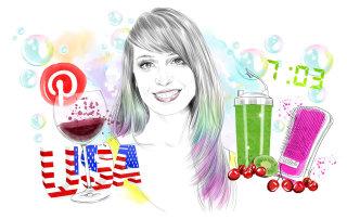 Illustration of Tasha Stevens