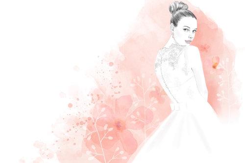 Wedding Bride illustration