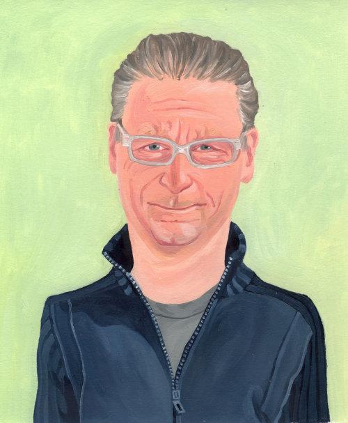 Portrait d'un vieil homme élégant