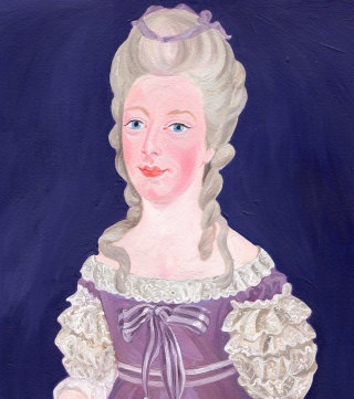 Portrait of Marie Antionette