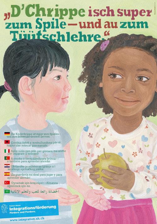 Couverture de livre enfants avec pomme