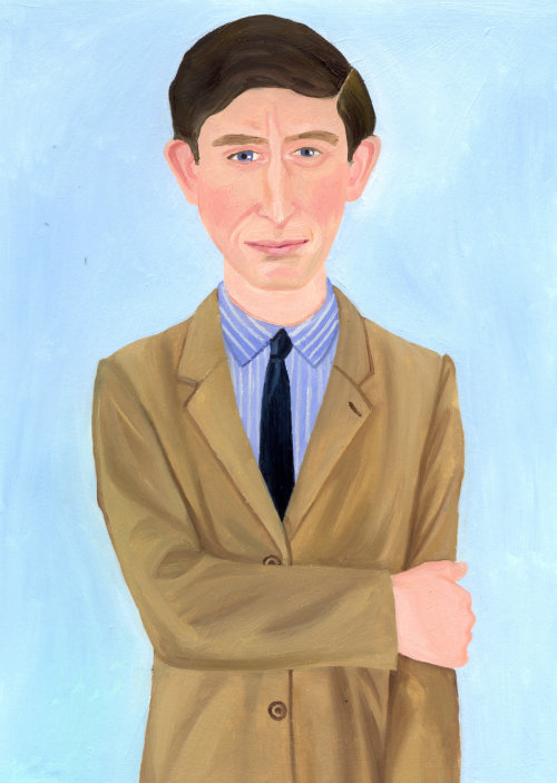 Portrait of a young Prince Charles