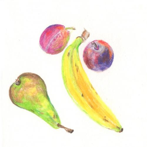 food illustration of fruits