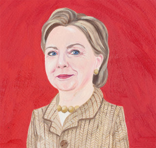 Portrait of Hillary Clinton
